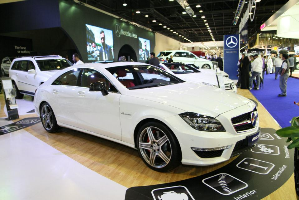 Qatar motor show 2012 in view worldcentre kuwait for Mercedes benz qatar
